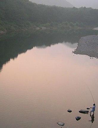 Yeong River - Image: Yeonggang