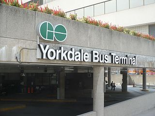 Yorkdale Bus Terminal