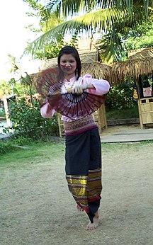 Yunnan-Etniciteter-Fil:Yunnan Tai woman