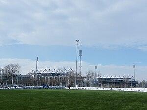 ZTE Arena - Image: ZTE Arena outside