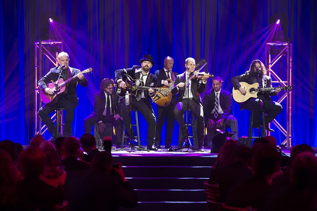 Zac Brown Band at the USO Annual Service Member of the Year Gala, Washington, D.C., October 20, 2016.