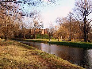 Międzyrzecz - Międzyrzecz's Castle and Obra River