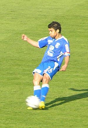 Eduardo da Silva - Eduardo taking a free kick for Dinamo in April 2007