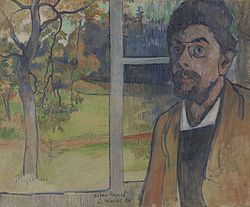 Charles Laval: Self-Portrait