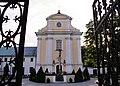 Zespół klasztorny reformatów,kościół par. pw. Ofiarowania NMP, Siennica, KK.JPG