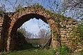 Zid de incintă al fostei mănăstiri Vizantea Livezi.jpg