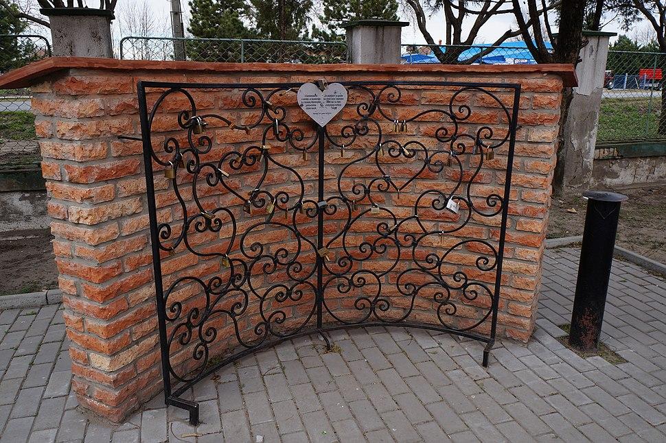 Zid zaljubljenih (Szerelemlakat-fal), Hajdukovo-Hajdujaras