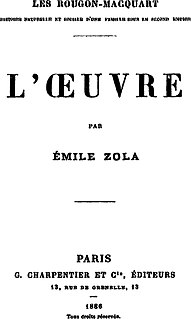<i>LŒuvre</i> Novel by Émile Zola
