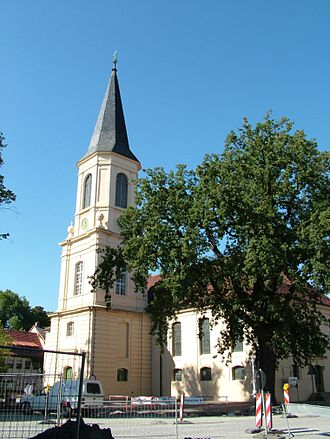 Zossen - Church of the Holy Trinity