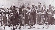 Zouaves de la Garde pendant la campagne d'Italie