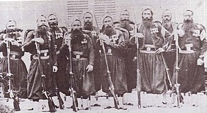 Imperial Guard (Napoleon III) - Guard Zouaves (Zouaves de la Garde) during the Second Italian War of Independence in 1859.