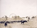 """Boer Cavalry ready for Mimic War."" Boer War Exhibit at the 1904 World's Fair.jpg"