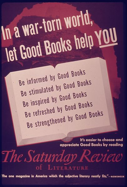 "File:""In a War-Torn World, Let Good Books Help You"" - NARA - 514614.jpg"