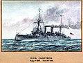 'H.M.S Charybdis Aug 1st 1914. Nov 14th 1914' RMG PU0301.jpg