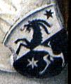 Äbtetafel Weißenau 03 Nr08 Michael I Hablitzel Wappen.jpg