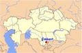 Çimkent'in Kazakistandaki Konumu.png