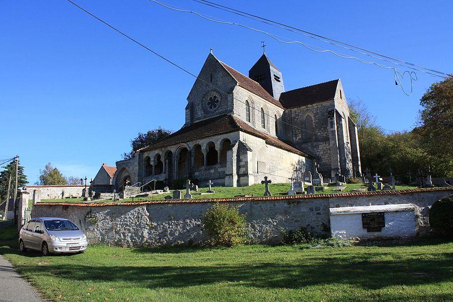 Église Saint-Germain de Mareuil-en-Dôle