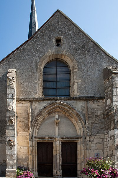 Saint-Pierre-Saint-Paul Church, Chamery, France.