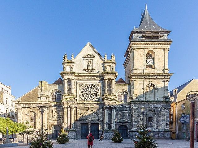 Достопримечательности Дьеппа Église_Saint-Rémy_de_Dieppe