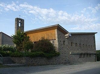 Alboussière - Image: Église d'Alboussière