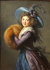Madame Molé-Reymond with Muff