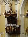 Česká Lípa, kostel Všech svatých, kazatelna 01.jpg