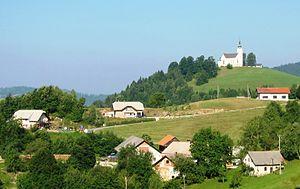 Črni Vrh, Dobrova–Polhov Gradec - Image: Črni Vrh Slovenia
