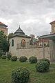 Škola, Klášterní 52, Pardubice - altán.JPG
