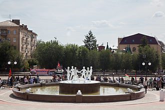 Barmaley Fountain - Image: Бармалей фонтан
