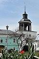 Башня западная воротная, весна в монастыре.jpg