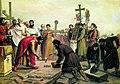 Верещагин Василий Петрович - Закладка Десятинной церкви в Киеве в 989 году.jpg
