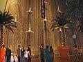 Водопад в торговом центре Dubai Mall.jpg