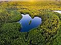 Волшебное озеро Глубелька на закате дня.jpg