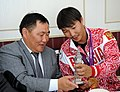 Встреча Михаила Оюна, чемпиона Паралимпиады-2012 06.jpg
