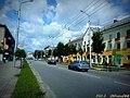 """Выгляд вуліцы Ільіча з боку кінатэатра """"Мір"""" ... View of a Il'icha street from cinema """"Mir"""" - panoramio.jpg"""