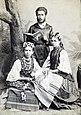 Леся Українка, Михайло Косач, Маргарита Комарова. 1889 р.jpg
