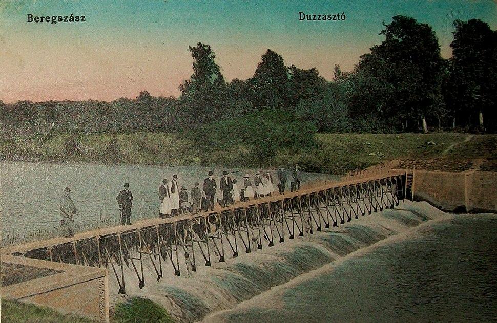 Листівки - Берегове гребель в 1900 році