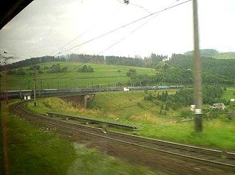 Lviv Railways - Image: Львів Чоп