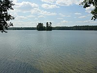 На берегу озера Таир.JPG