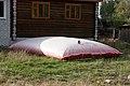 Противопожарная подушка около дома (2010.09.04) - panoramio.jpg