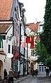 Рига (Латвия) Старый город Kalēju iela (Кузнечная улица) (крупно) - panoramio.jpg