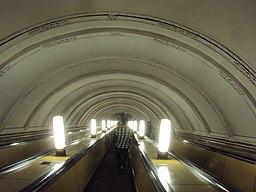 Станция Московского метрополитена Горьковско-Замоскворецкой линии Новокузнецкая 04