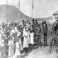 טיול קבוצתי של ציונים בגרמניה לארץ ישראל ב- 1913. מסחה. צלם אלברט בר-PHAL-1619683.png
