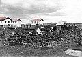 תחנת הרכבת בטול כרם במלחמת העולם הראשונה, על האדמה מונחים שרידי יער השרון.jpg