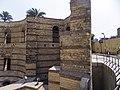 جزء من حصن بابليون بمصر القديمة.jpg