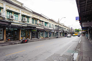 Talat Yot subdistrict in Phra Nakhon district, Bangkok, Thailand