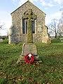 -2018-12-10 War memorial, Saint Margaret of Antioch parish church, Suffield, Norfolk.JPG