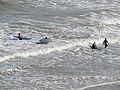 -2019-09-08 Surfers on the east beach, Cromer, Norfolk (4).JPG