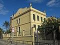 020 Grup escolar Ventós Mir, pge. Ventós Mir 27-29 (Badalona), façana av. Sant Ignasi de Loiola.jpg