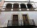 076 Edifici al c. Sant Josep, 27 (Martorell), balcó i galeria.jpg